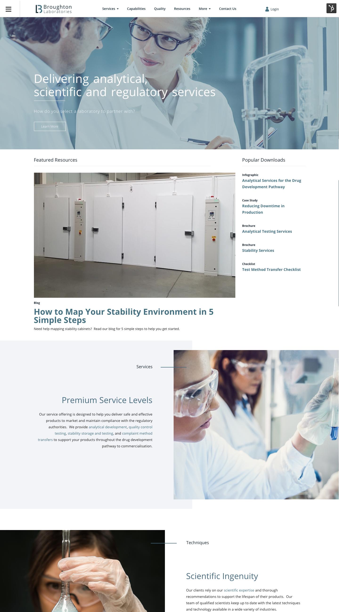 broughton laboratories website